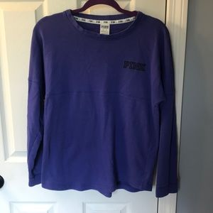 VS Crew neck sweatshirt indigo purple